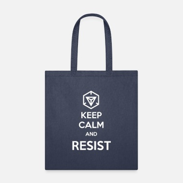 Keep Calm and resist - Tote Bag