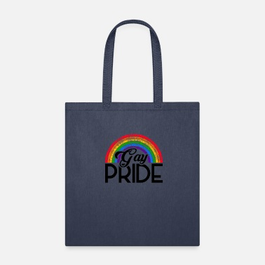 Gay Pride LGBT Pride CSD Gay Queer Rainbow - Tote Bag