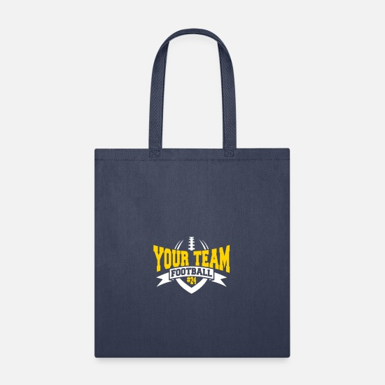Football Bags & Backpacks - YOUR TEAM FOOTBALL - Tote Bag navy