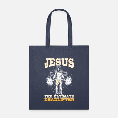 Different Deadlifter Jesus Gym - Tote Bag