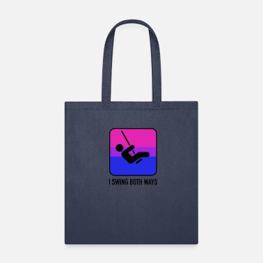 Equal I swing both ways Bisexual LGBT Gay Pride CSD - Tote Bag