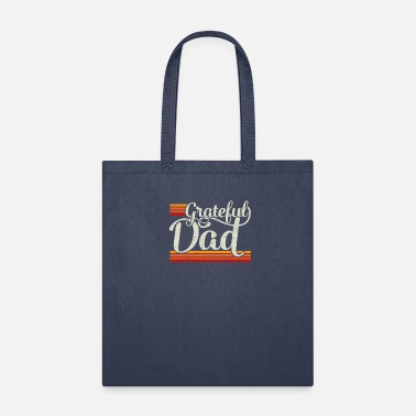 Daddy Grateful Dad Vintage Distressed Father's Day Gift - Tote Bag