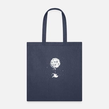Space Astronaut and Ballon - Tote Bag