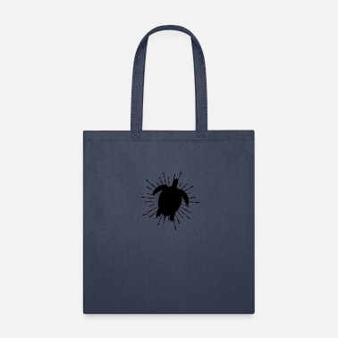 Reflection swimming turtle - Tote Bag