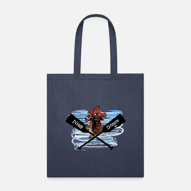 Boat Pirate Dragon boat - Tote Bag