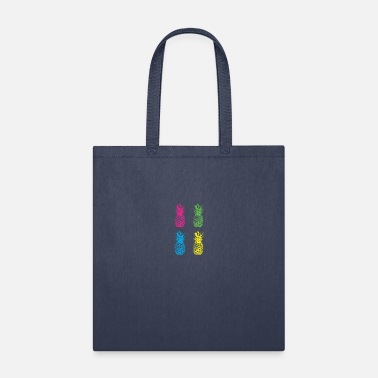 Pineapple Neon PINEAPPLE NEON - Tote Bag