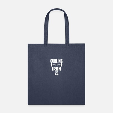 Iron-for-ironing Curling Iron - Tote Bag