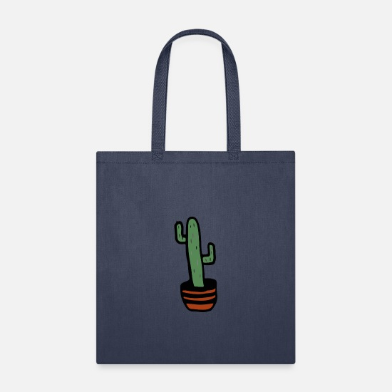Garden Bags & Backpacks - Cactus - Tote Bag navy