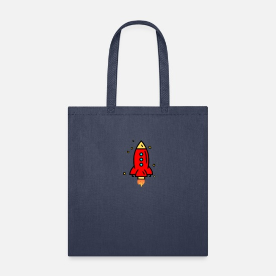 Drawstring Backpack Space Stars Planets With Rockets Shoulder Bags