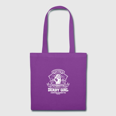 Psychotic Derby Girl Shirt - Tote Bag