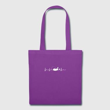Fisherman Heartbeat Shirt - Tote Bag