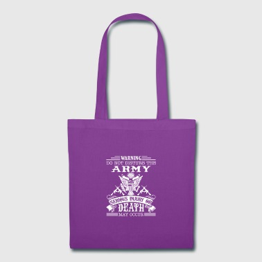 Army Tee Shirt - Tote Bag