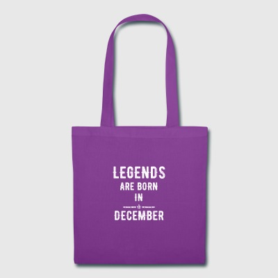 Legends are born in december - Tote Bag