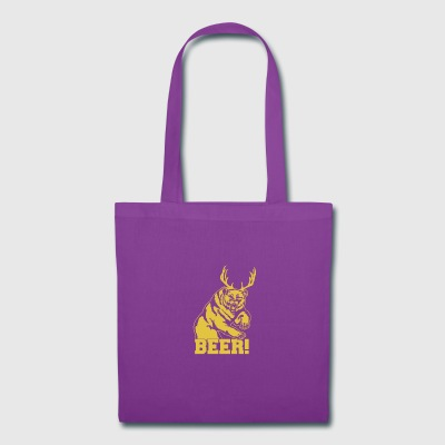 Bear beer - Tote Bag