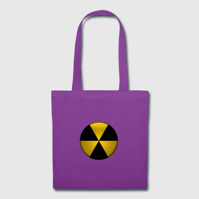 Radioactive Button - Tote Bag