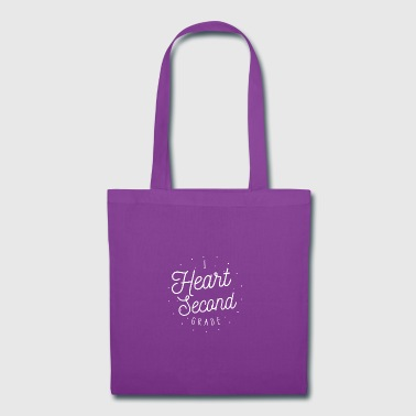 I Heart Second Grade Design for Teachers - Tote Bag