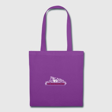 Fort Rock LOGO white red font - Tote Bag