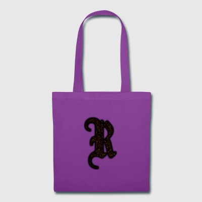 RAXX R LETTER GOLD - Tote Bag