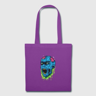 zombie head - Tote Bag
