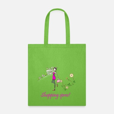 Shopping Frenzy shopping spree! - Tote Bag