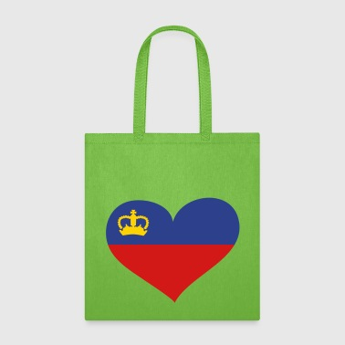 Liechtenstein Liechtenstein Heart; Love Liechtenstein - Tote Bag