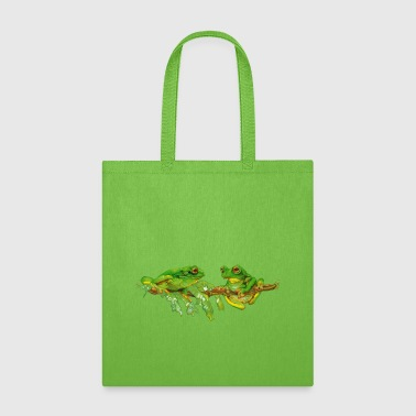 tree frogs - Tote Bag