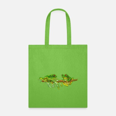 Tree Frog tree frogs - Tote Bag