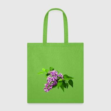 Lilacs and Leaves - Tote Bag