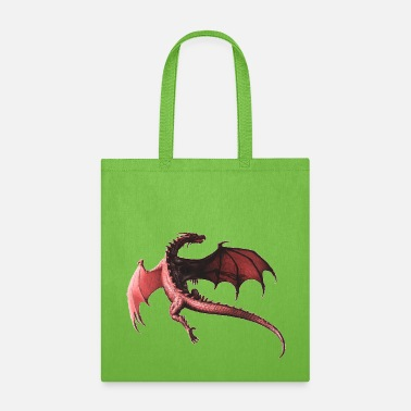 Red Dragon FLYING RED DRAGON - Tote Bag
