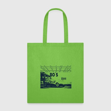 1983 80s Car - 80´s Wave - Tote Bag