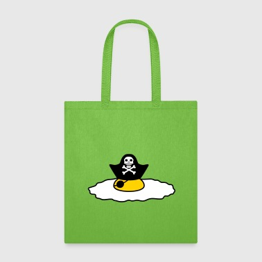 pirate sailor captain pirate sea ship boat sailing - Tote Bag