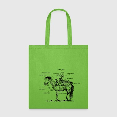 Thelwell Learning Western Riding - Tote Bag