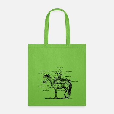 Western Riding Thelwell Learning Western Riding - Tote Bag