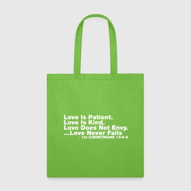 Bible Verse Love Bible Verse - Tote Bag