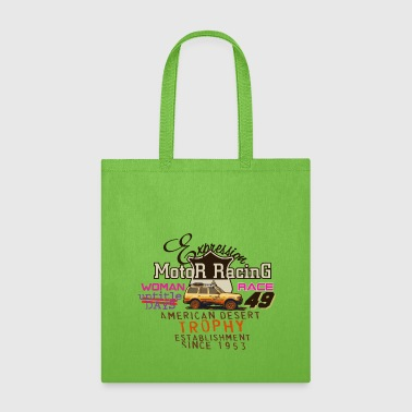 Motor Race motor racing - Tote Bag