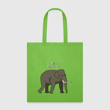 asian elephant - Tote Bag