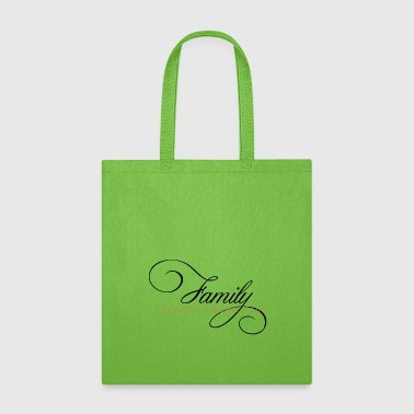 Family the roots of the tree of life - Tote Bag