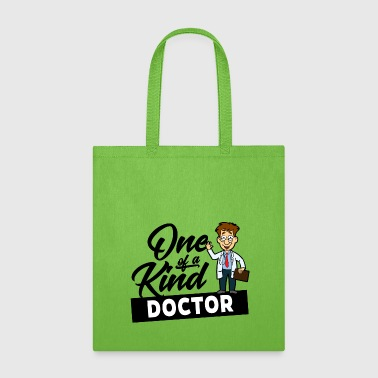 D001 0267B Doctor One of a kind WhiteProud Doctor - Tote Bag