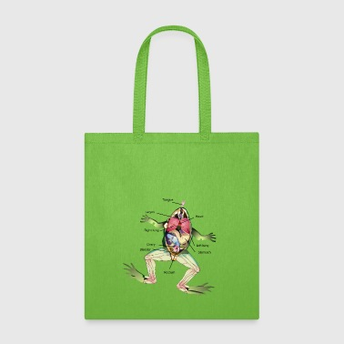 The Frog's Anatomy - Tote Bag
