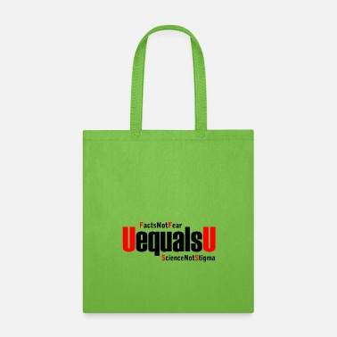 Hiv HIV Undetectable Untransmittable - Not Stigma - Tote Bag