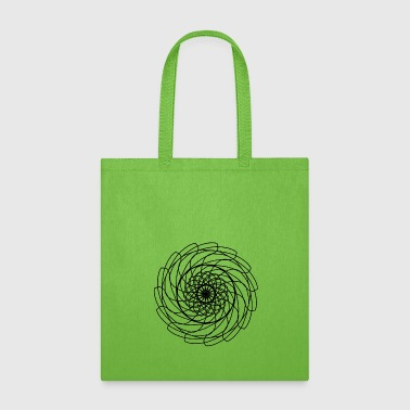 Abstract Sawblade - Tote Bag