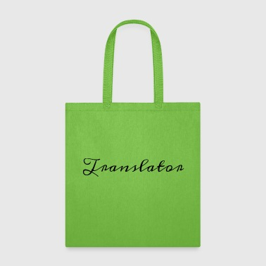 Handwriting Translator Design in Historical Handwriting - Tote Bag