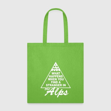 Stranger in the Alps - Tote Bag
