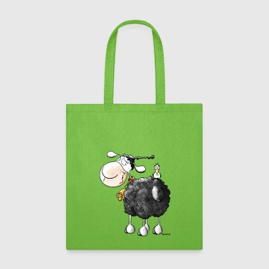 Funny Curly Sheep - Tote Bag
