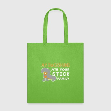 Dachshund Shirt - Tote Bag