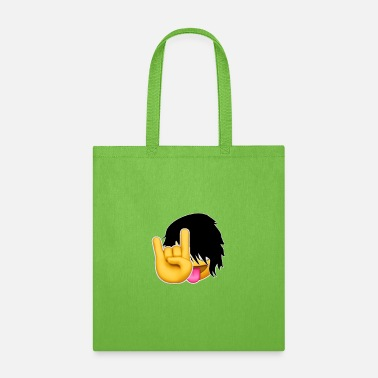 Emo Emo-ji Rock On Tee - Tote Bag