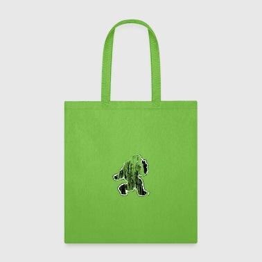 Funny Bigfoot doing Peace Sign Yeti Sasquatch - Tote Bag