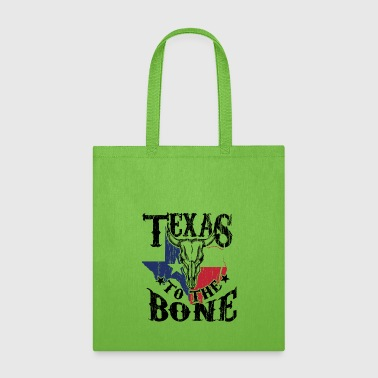 Cattle Skull Art for Texas Women and Men Cattle Farmer Light - Tote Bag