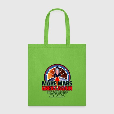 US Space Force New Military Branch Rocket to Mars Light - Tote Bag
