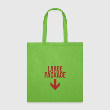 Large Package - Puns, Jokes - Total Basics - Tote Bag